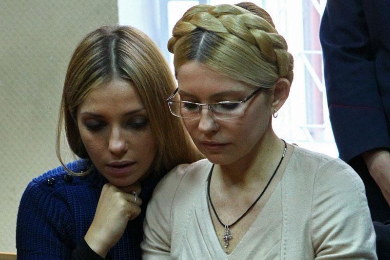 J.Tymošenko duktė Briuselyje kalbėjosi su A.Merkel ir S.Berlusconi
