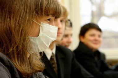 Dėl gripo mieste atšaukiami renginiai, užsidaro mokyklos