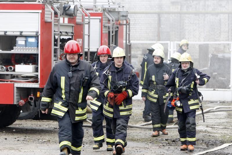 Gesinant gaisrą Pasvalio rajone rastas vyro kūnas