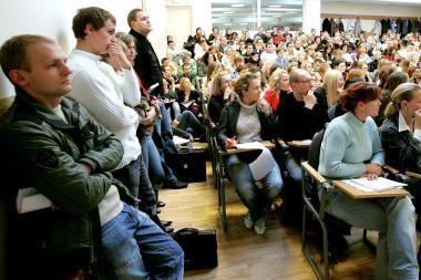Laisvajame universitete - diskusijos politinėmis temomis