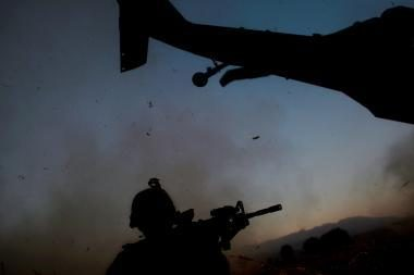 Afganistane - viena juodžiausių amerikiečiams dienų