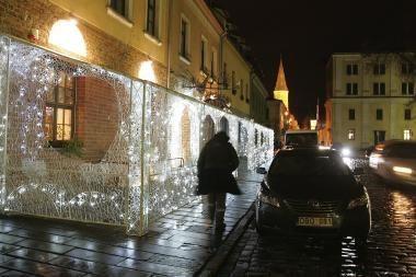 Kalėdos Kaune: lemputėmis žybsės pagrindinės miesto gatvės