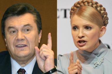 Krizės kamuojama Ukraina sekmadienį renka prezidentą