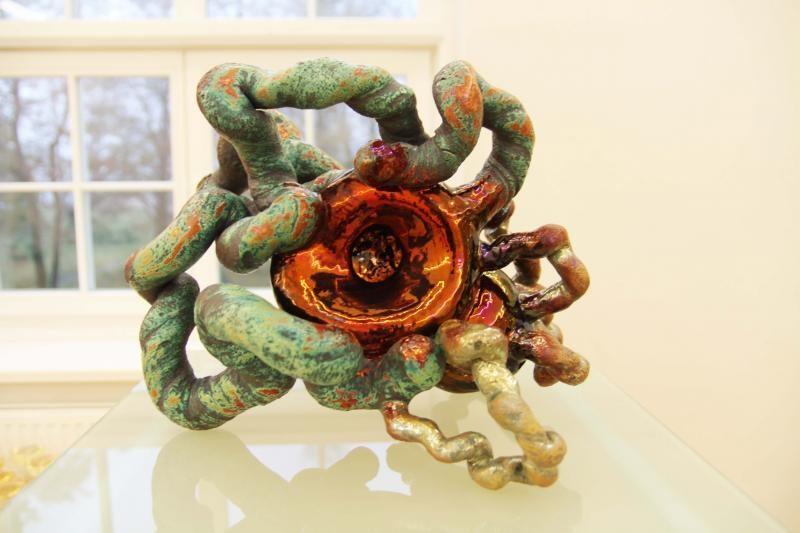 Keramikės paroda – tarsi spalvinga kūrybos laboratorija