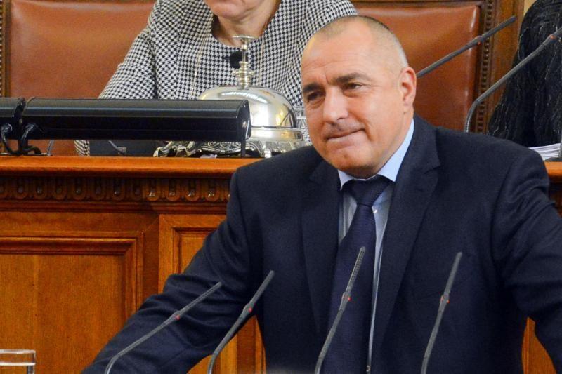 Bulgarijos premjeras B. Borisovas atsistatydino