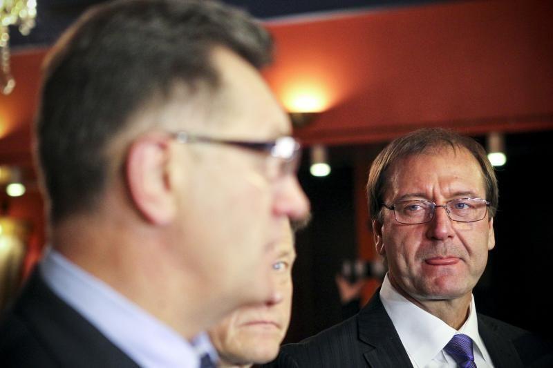 A. Butkevičius DP lyderiui  dėl šmeižto siūlo kreiptis į teisėsaugą