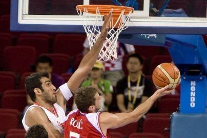 Kroatai laimėjo prieš Irano krepšininkus