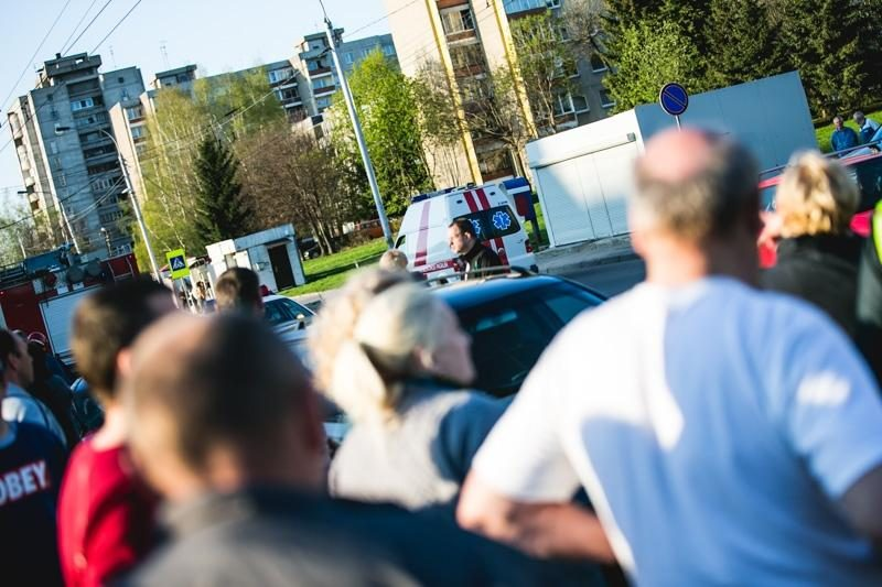 Vilniuje avaringoje sankryžoje susidūrė dar du automobiliai