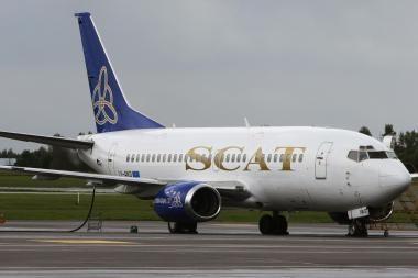 Lėktuvą išnuomojo užsienio oro bendrovei