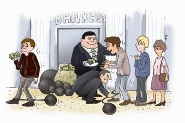 Dalis bankų žada švelninti skolinimo sąlygas