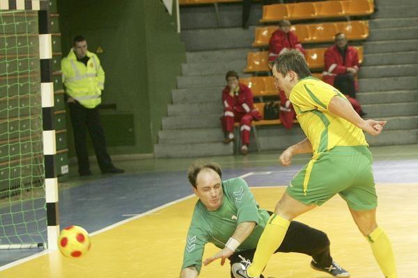 Salės futbolo rinktinė nusileido lenkams