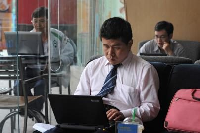 Daugiausia interneto vartotojų – Kinijoje