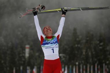 Slidininkė J.Kowalczyk iškovojo Lenkijai pirmąjį olimpiados auksą