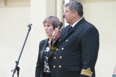 Mirė KJP Karo flotilės vadas komandoras A.Stankaitis