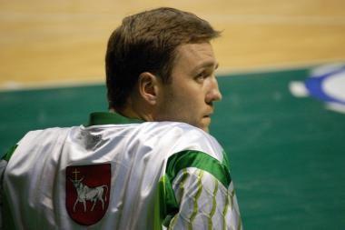 V.Ginevičius prie savo komandos pergalės pridėjo 14 taškų