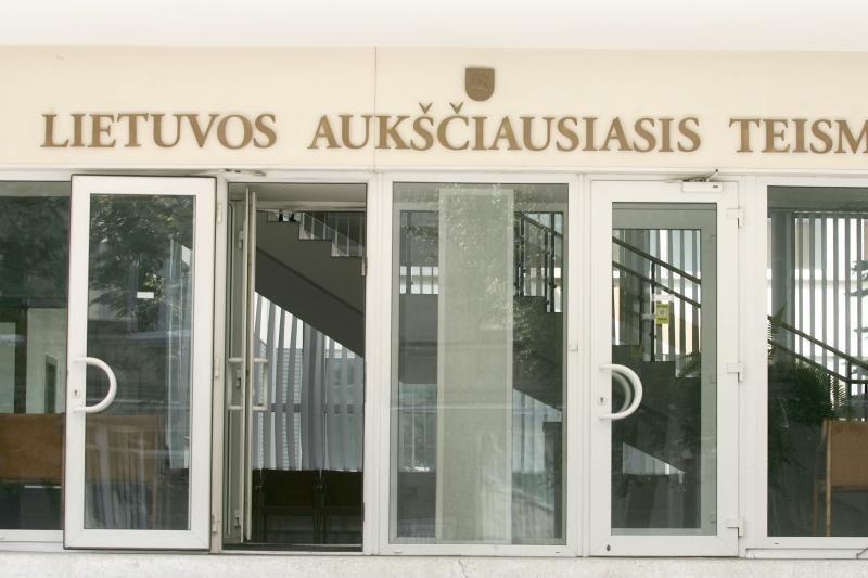 LAT atmetė už Vilniaus advokato nužudymą nuteisto baikerio skundą