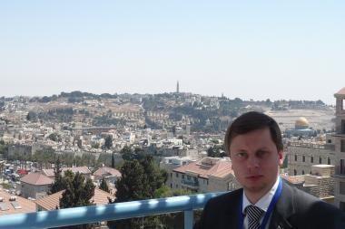 Kauno meras lankosi Jeruzalėje