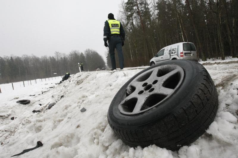 Lietuvoje - šalis su gera mirčių eismo įvykiuose registravimo sistema