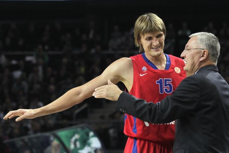 Andrejus Kirilenka lieka Maskvos CSKA komandoje