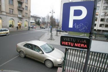 Pabrango Vilniaus senamiesčio požeminės aikštelės