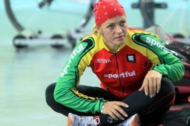 S.Krupeckaitė: naujas dviračių treko sezonas bus sudėtingas