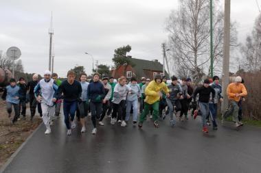 Bėgimo varžybose - naujovė