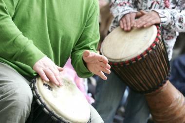 """""""Drum2gether"""" ritmai skambės ir Marijampolėje"""