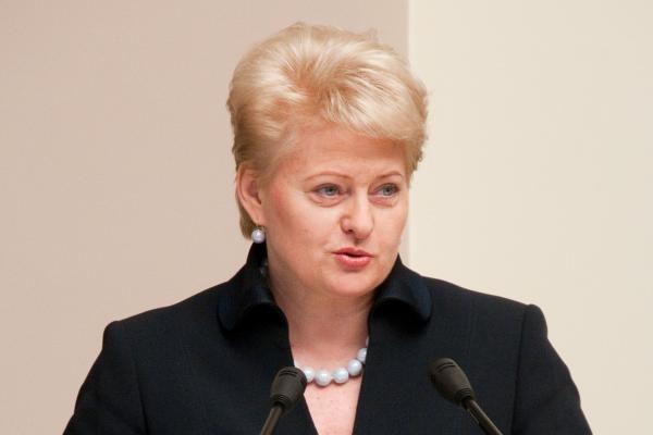 D.Grybauskaitė ne iš tų, kuriuos galima