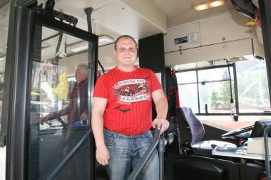 Autobuso vairuotojo ieškinys darbdaviui patenkintas iš dalies