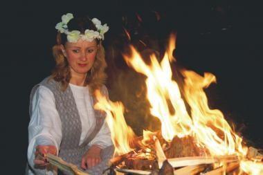 Baltų vienybės diena su ugnies ženklu