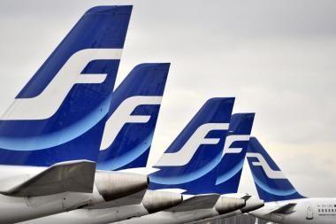 """""""Finnair"""" pripažinta geriausiu oro vežėju Šiaurės Europoje"""