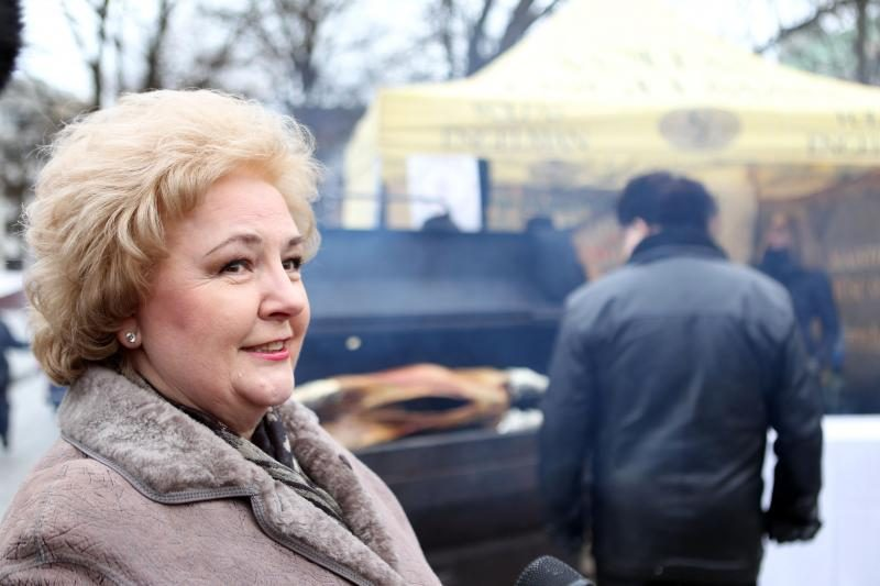 E.Vaitkevičės kulinarinė akcija sudomino ir K.Brazauskienę