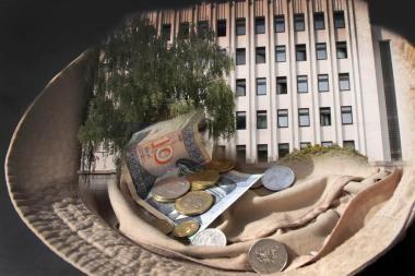 2010 metų miesto biudžetas - 100 mln. litų mažesnis