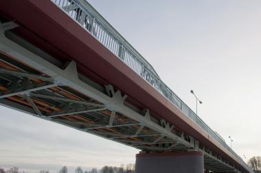 Bus rekonstruojamas tiltas per Nerį ties Nemenčine