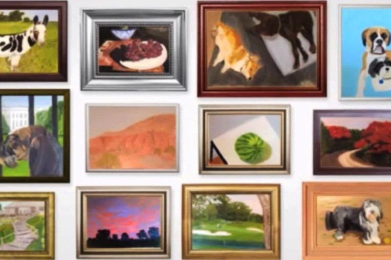George'as W. Bushas: tapymas pakeitė mano gyvenimą