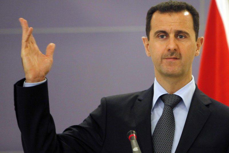 B.al Assadas apgailestauja, kad sirai numušė turkų lėktuvą