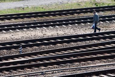"""E.Masiulis """"Rail Balticos"""" geležinkelio statybos darbus žada jau šią vasarą"""