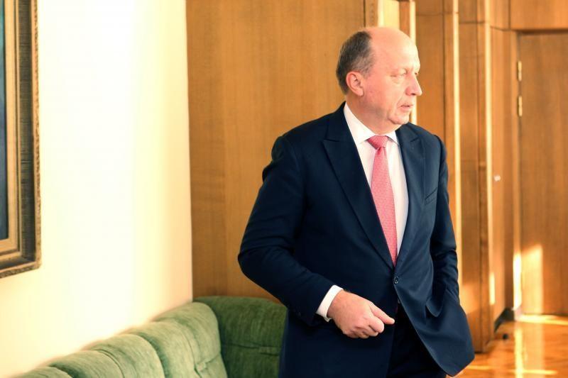 A. Kubilius nebevyks į Pasaulio ekonomikos forumą Davose