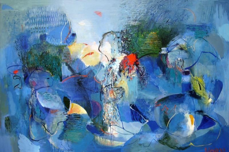 """Vytenio Lingio tapybos """"Nulinis laikas"""" – Palangos galerijoje"""