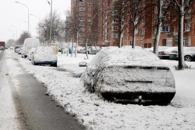 Klaipėdos gatvės sausos