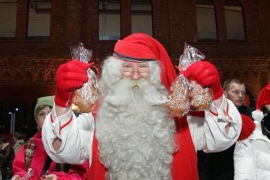 Kalėdų Senelis iš Suomijos Vilniuje lankysis lapkričio pabaigoje