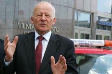 Vilniaus merą J.Imbrasą opozicija ketina versti trečiadienį