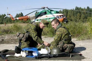Atidaromas patraukimo profesinėn karinėn tarnybon punktas