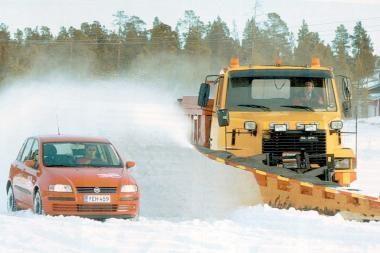 Policija pataria, kaip saugotis žiemą