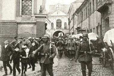 """Vilniuje atidaroma paroda """"I pasaulinis karas ir Lietuva"""""""