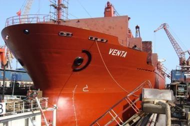 """Laivo """"Venta"""" sulaikymas nepakenks vėliavos prestižui"""