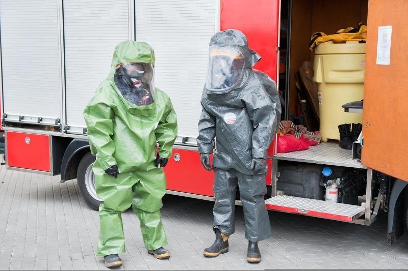 Vilniuje dėl padidėjusios amoniako koncentracijos evakuoti 35 žmonės