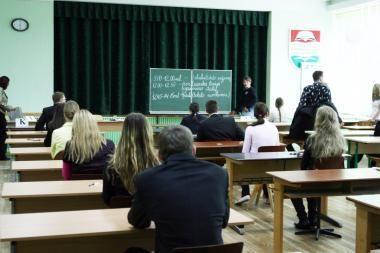 Savivaldybė nenori egzaminuoti abiturientų