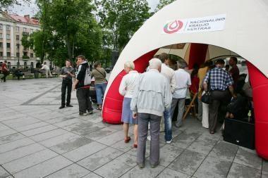 Sostinės centre - Neatlygintinos kraujo donorystės akcija