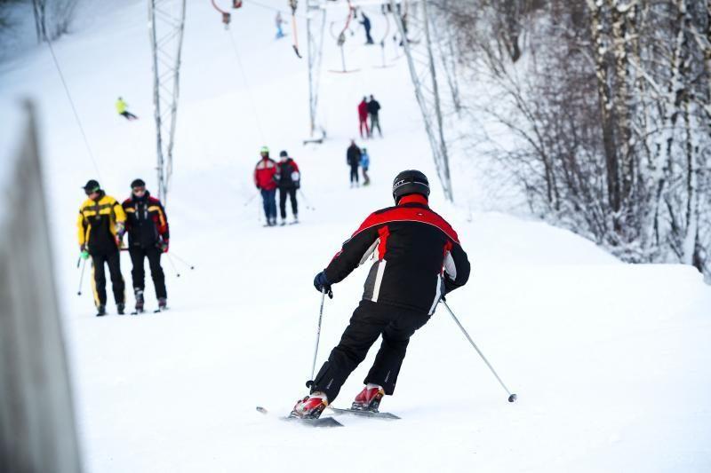 Lietuvoje savaitgalį išsilaikys     žiemiški    orai